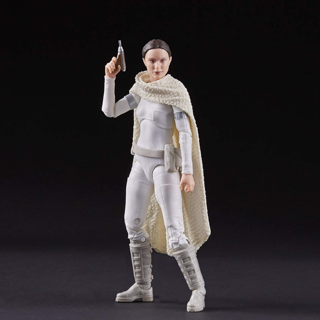 Hasbro promotional photo of the 2019 Star Wars The Black Series Padmé Amidala action figure. (C) 2019 Hasbro and Lucasfilm Ltd.  Used for review purposes.